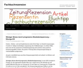 Rezension Weniger Stress durch Progressive Muskelentspannung