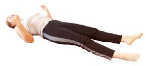 Progressive Muskelentspannung im Liegen