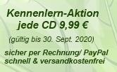 CDs zur Entspannung im Angebot